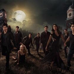 Пазл онлайн: Дневники вампира