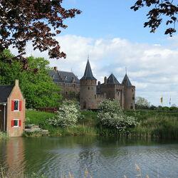 Пазл онлайн: Замок Мейдерслот. Нидерланды