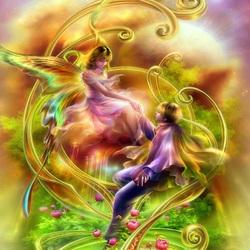 Пазл онлайн: Воздушный танец