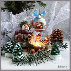 Пазл онлайн: Праздничное настроение