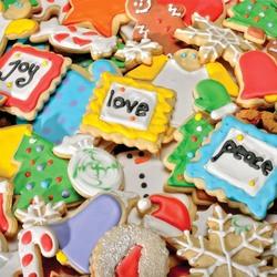 Пазл онлайн: Печенье к празднику