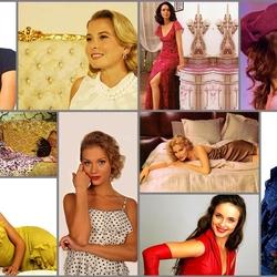 Пазл онлайн: Актрисы