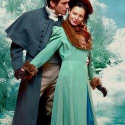 Пазл онлайн: Зимний романс