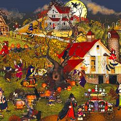 Пазл онлайн: Ведьмы в Хаунтсвилле