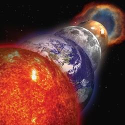 Пазл онлайн: Парад планет