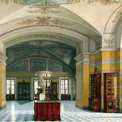 Пазл онлайн: Виды залов малого Эрмитажа