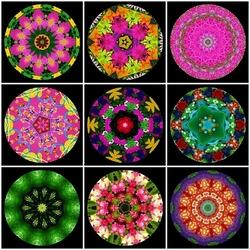 Пазл онлайн: Калейдоскоп