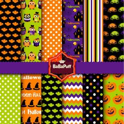 Пазл онлайн: Узоры Хэллоуина