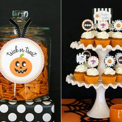 Пазл онлайн: Сладости Хэллоуина