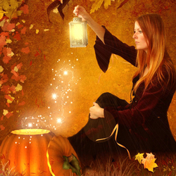 Пазл онлайн: Осеннее волшебство