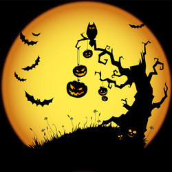 Пазл онлайн: Весёлого Хэллоуина!