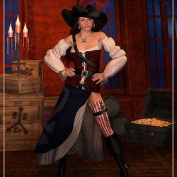 Пазл онлайн: Жизнь пиратки