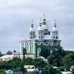 Пазл онлайн: Церковь иконы Божией Матери в Смоленске