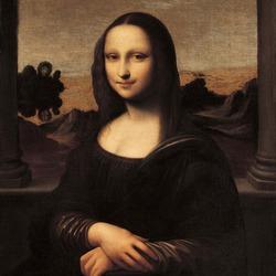 Пазл онлайн: Айзелуортская Мона Лиза