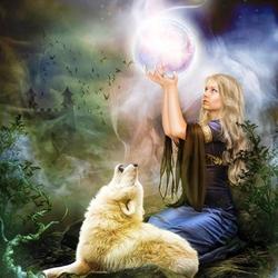 Пазл онлайн: Магический шар