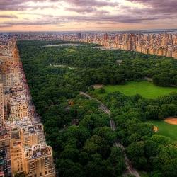 Пазл онлайн: Центральный парк Нью-Йорка