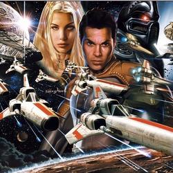 Пазл онлайн: Battlestar Galactica