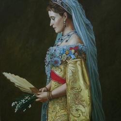 Пазл онлайн: Великая княгиня Елизавета Федоровна