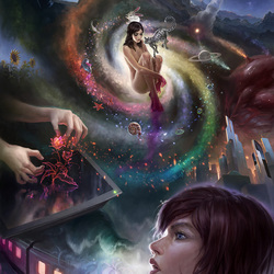 Пазл онлайн: Внутренняя вселенная