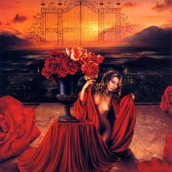 Пазл онлайн: Ворота роз
