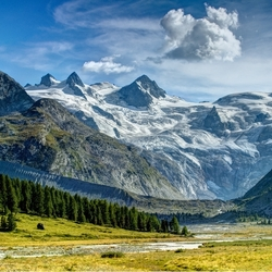 Пазл онлайн: Швейцарские Альпы
