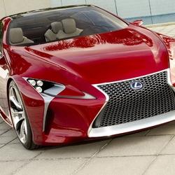 Пазл онлайн: Lexus LF-LC