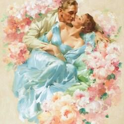 Пазл онлайн: Романтические отношения