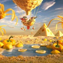 Пазл онлайн: Пирамиды