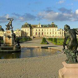Пазл онлайн: Дворец Дроттингхольм, Швеция