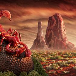 Пазл онлайн: Скорпион