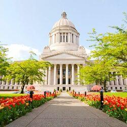 Пазл онлайн: Город Олимпия, штат Вашингтон, США