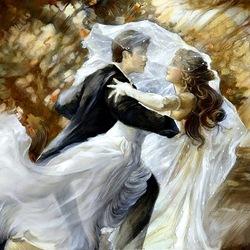 Пазл онлайн: Первый танец