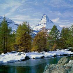 Пазл онлайн: Где то в горах