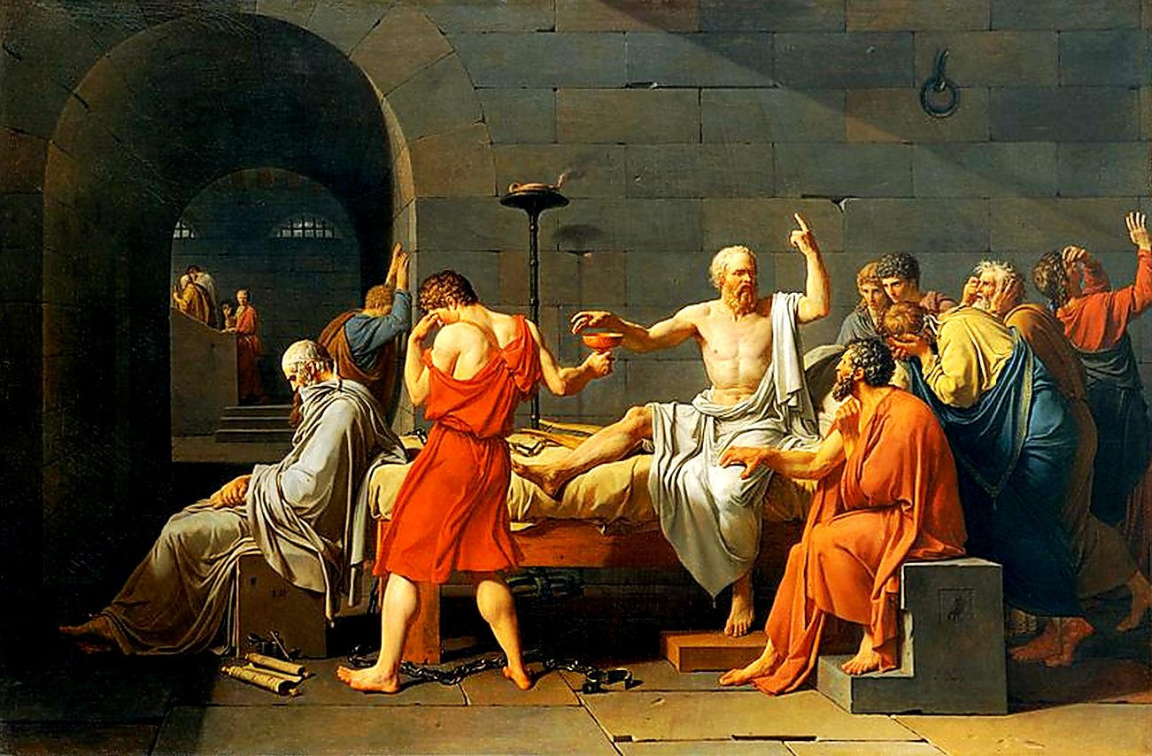 a discussion on socrates justification of his crimes How are the views of epictetus and socrates we also are pretty sure he stood trial for his crimes of not honoring the will need further justification.