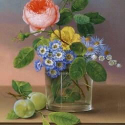 Пазл онлайн: Цветы