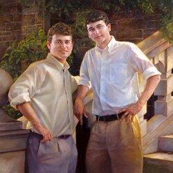 Пазл онлайн: Брайан и Мэтт