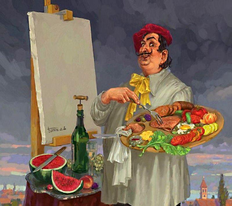 Картинки приколы художнику