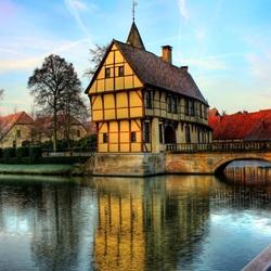 Пазл онлайн: Замок Steinfurt