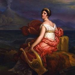Пазл онлайн: Портрет мадам де Сталь