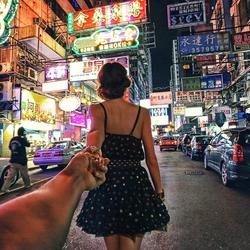 Пазл онлайн: Следуй за мной