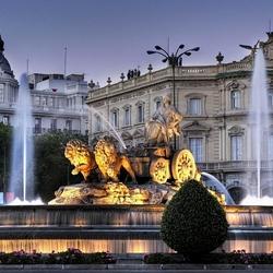 Пазл онлайн: Фонтан Сибелис в Мадриде