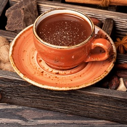Пазл онлайн: Пряный шоколад