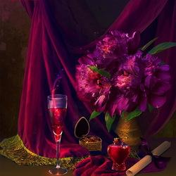 Пазл онлайн: Магия вина
