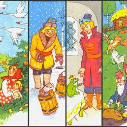 Пазл онлайн: Русские народные сказки