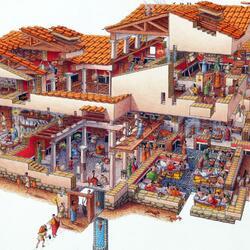 Пазл онлайн: Купеческий дом