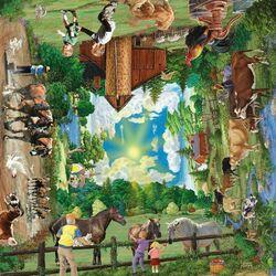 Пазл онлайн: Лето на ферме