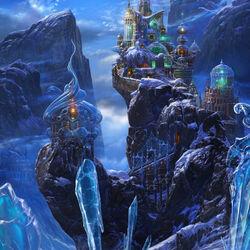 Пазл онлайн: Ледяной мир