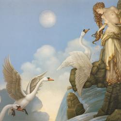 Пазл онлайн: Лебединое приветствие
