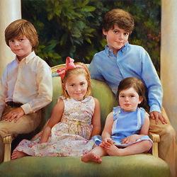 Пазл онлайн: Дети Уильямсов