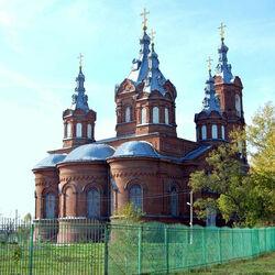 Пазл онлайн: Храм Архангела Михаила в пос.Мордово